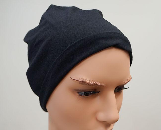 医療用帽子(ブラック)